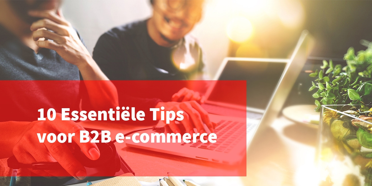 B2B e-commerce tips